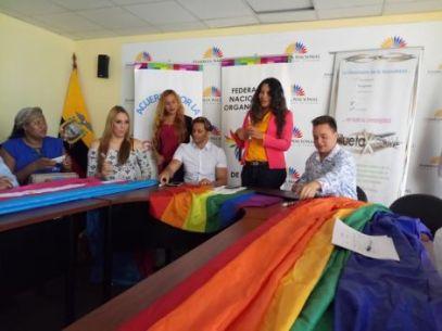 Acto Inaugural y sesión Solemne del Orgullo Guayaquil 2017 - Gay Pride Ecuador 13