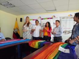 Acto Inaugural y sesión Solemne del Orgullo Guayaquil 2017 - Gay Pride Ecuador (3)