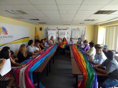 Acto Inaugural y sesión Solemne del Orgullo Guayaquil 2017 - Gay Pride Ecuador 4