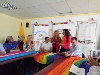 Acto Inaugural y sesión Solemne del Orgullo Guayaquil 2017 - Gay Pride Ecuador 7