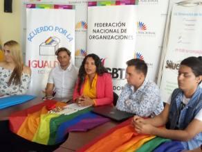 Acto Inaugural y sesión Solemne del Orgullo Guayaquil 2017 - Gay Pride Ecuador Diane Rodriguez