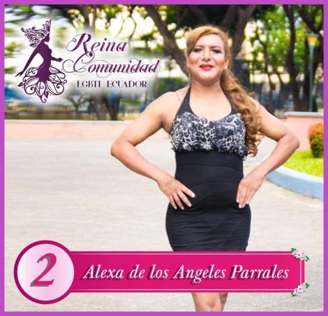 Candidatas a Reina de la Comunidad LGBTI Ecuador 2018-Asociacion Silueta x-Federacion LGBTI-Orgullo y Diversidad 2018 1