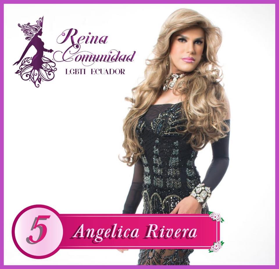 Candidatas a Reina de la Comunidad LGBTI Ecuador 2018-Asociacion Silueta x-Federacion LGBTI-Orgullo y Diversidad 2018 4