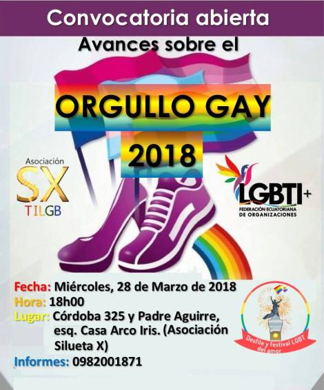 convocatoria-abierta-sobre-avances-del-orgullo-gay-2018-silueta-x-federacion-lgbti- Orgullo Guayaquil 2018