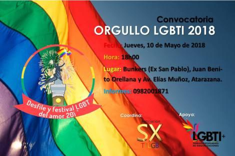 convocatoria orgullo-lgbti-2018-ecuador-federacion-lgbti- orgullo guayaquil 2018