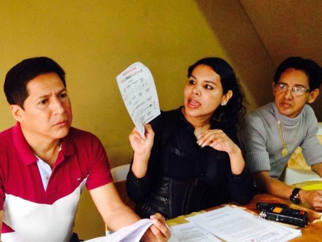 Diane Rodríguez de la Asociación Silueta X en Rueda de Prensa sobre el día del Orgullo Guayaquil - pride guayaquil Ecuador - permisos solicitados al municipio (1)