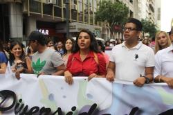 Diane Rodriguez - transgenero Memorias del Orgullo Guayaquil - Gay Pride Guayaquil Ecuador 2017 - Orgullo y diversidad sexual lgbt (1)