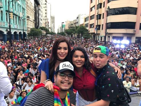 Diane Rodriguez - transgenero Memorias del Orgullo Guayaquil - Gay Pride Guayaquil Ecuador 2017 - Orgullo y diversidad sexual lgbt (12)