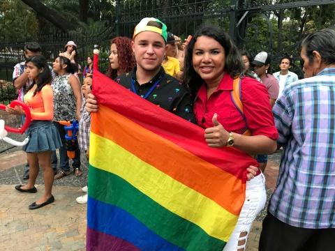 Diane Rodriguez - transgenero Memorias del Orgullo Guayaquil - Gay Pride Guayaquil Ecuador 2017 - Orgullo y diversidad sexual lgbt (16)