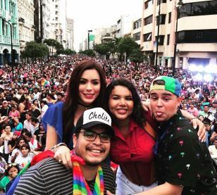 Diane Rodriguez - transgenero Memorias del Orgullo Guayaquil - Gay Pride Guayaquil Ecuador 2017 - Orgullo y diversidad sexual lgbt (4)