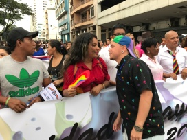 Diane Rodriguez - transgenero Memorias del Orgullo Guayaquil - Gay Pride Guayaquil Ecuador 2017 - Orgullo y diversidad sexual lgbt (6)