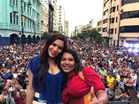 Diane Rodriguez - transgenero Memorias del Orgullo Guayaquil - Gay Pride Guayaquil Ecuador 2017 - Orgullo y diversidad sexual lgbt (7)