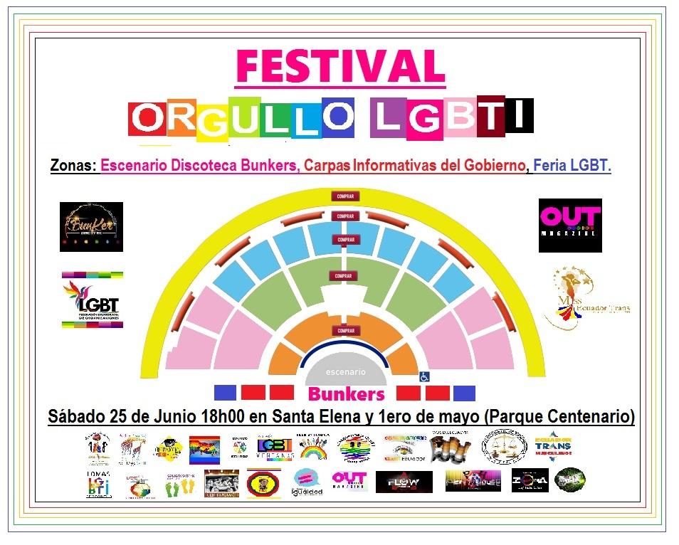 Orgullo Guayaquil - Gay Pride Guayaquil - Ecuador - Festival del Orgullo y Diversidad Sexual 2016