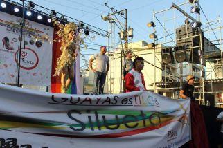 Orgullo Guayaquil - Gay pride Guayaquil - Orgullo LGBT Gay Ecuador Guayaquil 2015 - Asociación Silueta X Transgeneros (1)