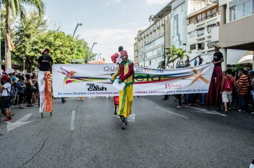 Orgullo Guayaquil - Gay pride Guayaquil - Orgullo LGBT Gay Ecuador Guayaquil 2015 - Asociación Silueta X Transgeneros (2)