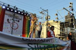 Orgullo Guayaquil - Gay pride Guayaquil - Orgullo LGBT Gay Ecuador Guayaquil 2015 - Asociación Silueta X