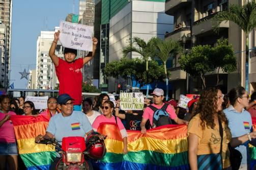Orgullo Guayaquil - Gay pride Guayaquil - Orgullo LGBT Gay Ecuador Guayaquil 2015 - Orgullo y Diversidad Sexual (110)