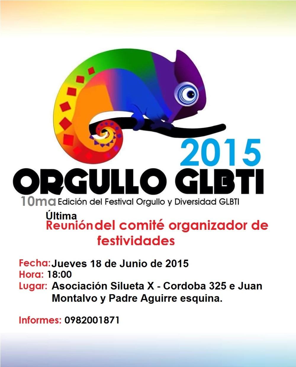 Orgullo Guayaquil Gay Pride y diversidad sexual 2015 - Ecuador