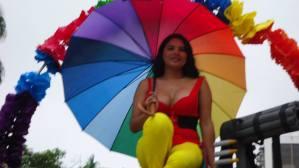 Orgullo Guayaquil o Pride Guayaquil Ecuador 2013 - Asociación SIlueta X - Diane Rodriguez - transgenero transexual (1)