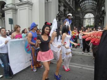 Orgullo Guayaquil o Pride Guayaquil Gay 2013 - Asociación SIlueta X - Campaña tiempo de Igualdad por un Ecuador Libre de discriminacion (2)