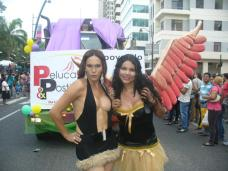 Orgullo Pride Gay Guayaquil - Ecuador 2012 - Diane Rodriguez trans transgenero transexual (3)