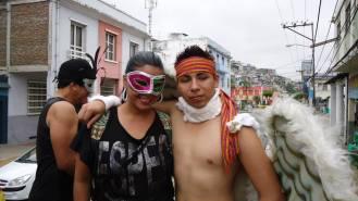 Preparativos del Orgullo Guayaquil o Pride Ecuador Gay 2013 Asociación Silueta X (11)