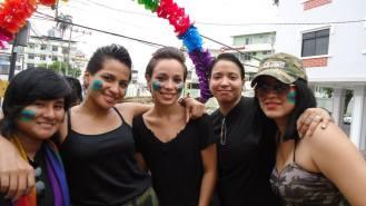 Preparativos del Orgullo Guayaquil o Pride Ecuador Gay 2013 Asociación Silueta X (13)