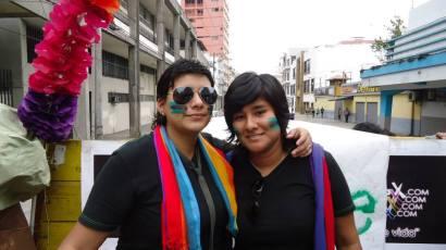 Preparativos del Orgullo Guayaquil o Pride Ecuador Gay 2013 Asociación Silueta X (3)