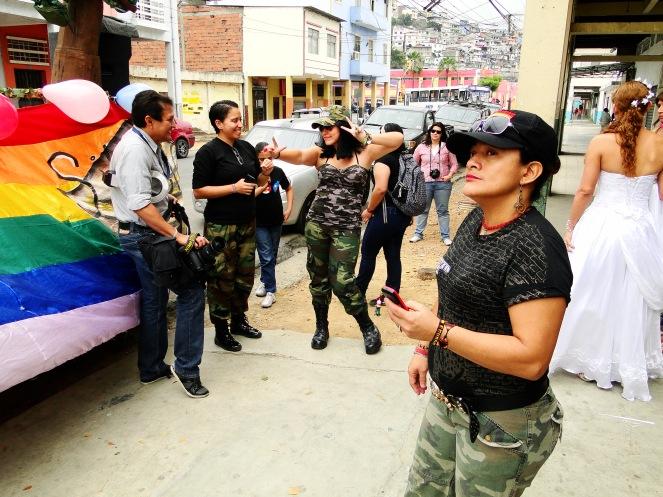 Preparativos del Orgullo Guayaquil o Pride Ecuador Gay 2013 Asociación Silueta X (7)