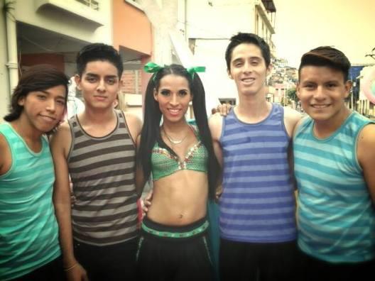 Preparativos del Orgullo Guayaquil pride gay 2014 Asociación Silueta X - Tiempo de Igualdad (2)