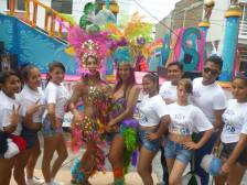 Preparativos del Orgullo Guayaquil pride gay 2014 Asociación Silueta X - Tiempo de Igualdad (4)