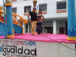 Preparativos del Orgullo Guayaquil pride gay 2014 Asociación Silueta X - Tiempo de Igualdad (5)