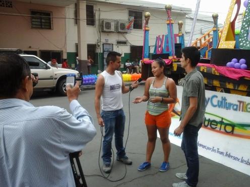 Preparativos del Orgullo Guayaquil pride gay 2014 Asociación Silueta X - Tiempo de Igualdad (9)