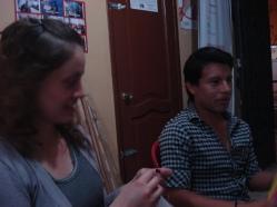 Preparativos del Orgullo Pride gay Guayaquil - Ecuador 2012 (2)