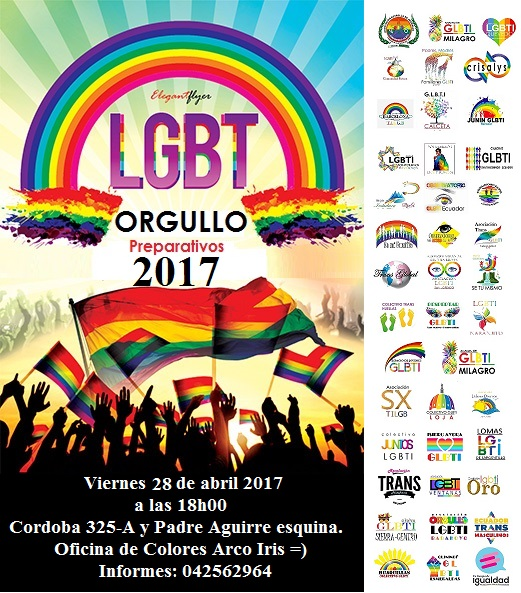 Prepartivos Orgullo y Diversidad 2017