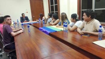 Reunión gobernación obtención permisos orgullo guayaquil gay pride ecuador 2017 4