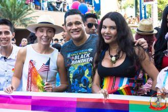 Orgullo guayaquil Gay pride Ecuador 2018 - Asociación silueta x - Federacion LGBT-Diane Rodriguez