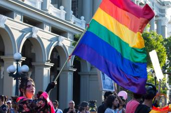 Orgullo guayaquil Gay pride Ecuador 2018 - Asociación silueta x - Federacion LGBT