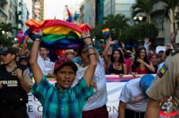 Orgullo guayaquil Gay pride Ecuador 2018 - Asociación silueta x - Federacion LGBT1