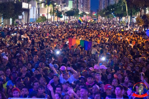 Orgullo guayaquil Gay pride Ecuador 2018 - Asociación silueta x - Federacion LGBT111