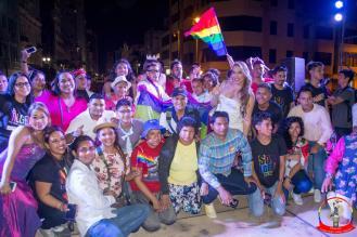 Orgullo guayaquil Gay pride Ecuador 2018 - Asociación silueta x - Federacion LGBT118