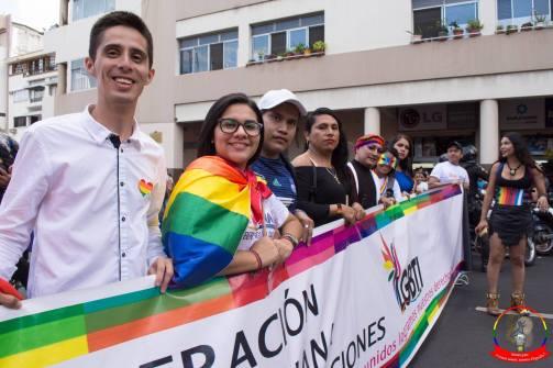Orgullo guayaquil Gay pride Ecuador 2018 - Asociación silueta x - Federacion LGBT14