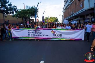 Orgullo guayaquil Gay pride Ecuador 2018 - Asociación silueta x - Federacion LGBT34