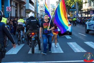Orgullo guayaquil Gay pride Ecuador 2018 - Asociación silueta x - Federacion LGBT36