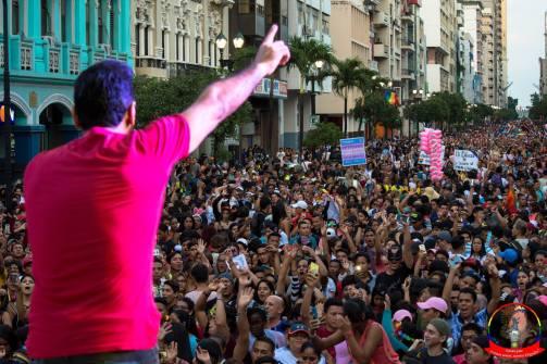 Orgullo guayaquil Gay pride Ecuador 2018 - Asociación silueta x - Federacion LGBT38