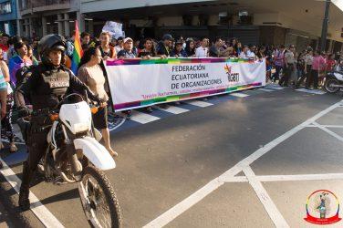 Orgullo guayaquil Gay pride Ecuador 2018 - Asociación silueta x - Federacion LGBT39