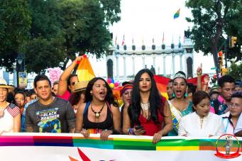 Orgullo guayaquil Gay pride Ecuador 2018 - Asociación silueta x - Federacion LGBT4