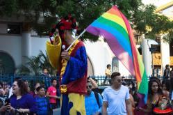 Orgullo guayaquil Gay pride Ecuador 2018 - Asociación silueta x - Federacion LGBT48