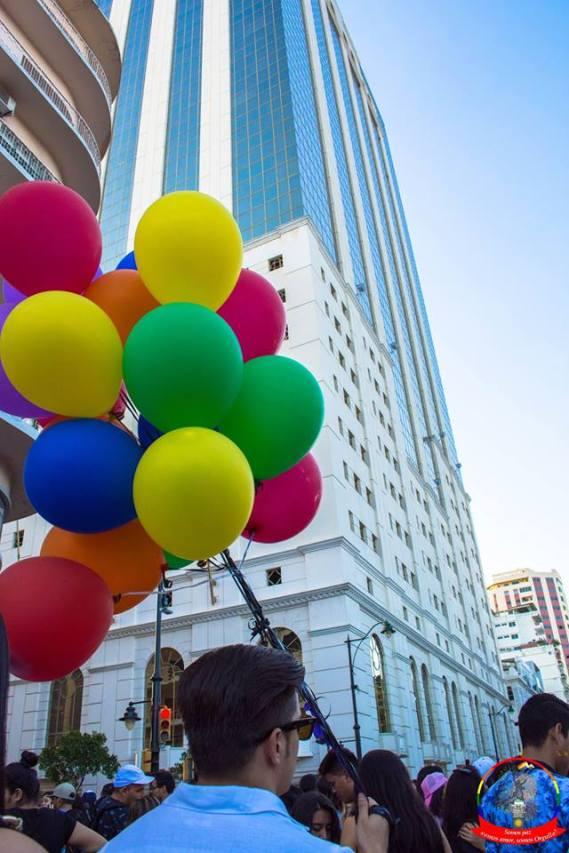 Orgullo guayaquil Gay pride Ecuador 2018 - Asociación silueta x - Federacion LGBT59