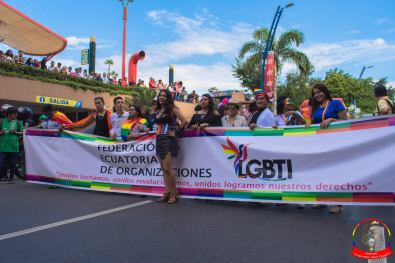 Orgullo guayaquil Gay pride Ecuador 2018 - Asociación silueta x - Federacion LGBT6